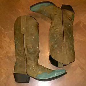 New Ladies Laredo Western Boots SZ-6.5 M
